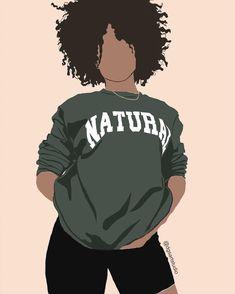 Black Love Art, Beautiful Black Girl, Black Girl Art, Black Girl Magic, Art Girl, Hand Drawing Reference, Paint And Sip, Pin Art, Afro Art
