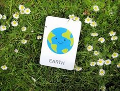 Earth vocabulary flash cards