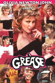 Grease the Movie Photo: John Travolta as Danny Zuko Olivia Newton John Movies, Olivia Newton John Grease, Grease Sandy, Grease 1978, Grease 2, John Travolta, My Fair Lady, Cambridge, Grease Is The Word