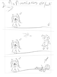 #kawaii #chibi #tirinha #dead #anime #Yuuki #manga #food
