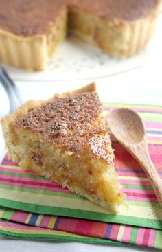 Klapper Tert - yumm South African Desserts, South African Dishes, South African Recipes, Coconut Tart, Impossible Pie, Good Food, Yummy Food, Tea Time Snacks, Sweet Tarts