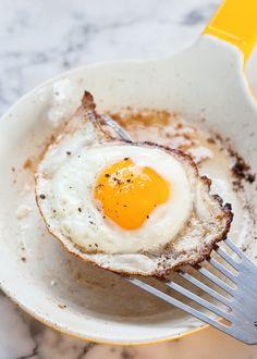 Como fazer o ovo frito perfeito?