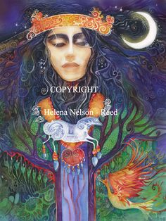 Helen Nelson Reed American Visionary Watercolor painter primary focus is exploring the collective consciousness and the portrayal of archetypal imagery in the tradition of Carl Jung and Joseph Campbell. Legends And Myths, Mystique, Visionary Art, Gods And Goddesses, Native American Art, Portraits, All Art, Amazing Art, Watercolor Paintings