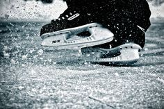 I would say, probably my favourite sound in the world, is the sound of freshly sharpened skates on a freshly cleared ice. True peace.
