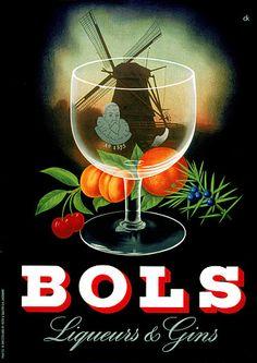 Bols Liqueur & Gin