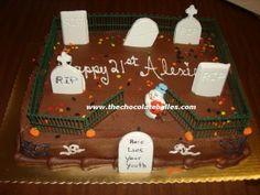 Birthday Idea - Halloween Cake