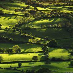 Lyth Valley, Lake District, England photo via eva - Blue Pueblo