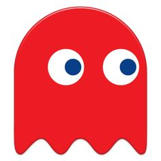 pac man ghosts template - Google Search
