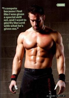 Rich Froning #Crossfit #Faith #GlorifyGod
