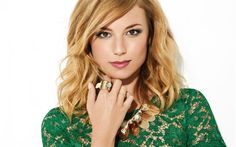 Herunterladen hintergrundbild emily vancamp, kanadische schauspielerin, portrait, blond, schöne frau
