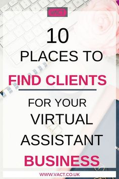 Knowing where to find new clients for your VA business can be confusing, especially if you're new or have relied on one marketing method for any length of time. It's easy to get stuck in the mindset that you don't need to market, as your clients are alway Business Tips, Online Business, Business Names, Business Planning, Business Marketing, Email Marketing, How To Get Clients, Virtual Assistant Services, Work From Home Jobs
