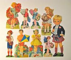 children Childhood Toys, Free Prints, Clay Projects, Xmas Cards, Sticker Paper, Vintage Images, Paper Dolls, Poppies, Paper Scraps