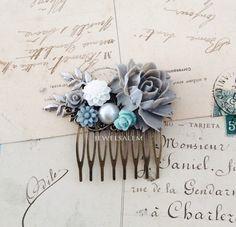 peigne  de mariée  mariage  accessoires pour cheveux