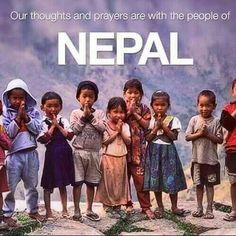 PRAY FOR NEPAL...