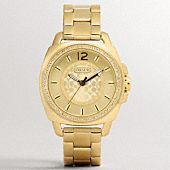 The Coach Boyfriend Crystal Bezel Bracelet Watch