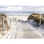 fotokunst strand en duinen 75x100