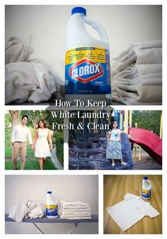 Learn how Clorox®️️ Regular-Bleach and Cotton Incorporated can help keep our whites laundry fresh and clean! #ad
