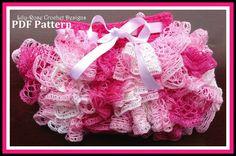 Lily-Rose Crochet Designs — CROCHET PATTERN Girls pink ruffle skirt Newborn 0 3 6 12 months 1 2 3 4 5 6 years crochet $4.95