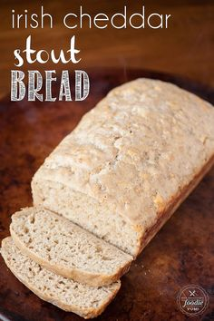 Irish Cheddar Stout Bread