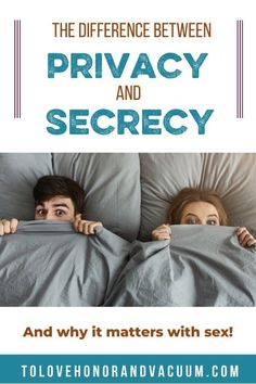Why do Christians often seem so hesitant to talk about sex? Part of it is sometimes we don't understand the difference between secrecy and privacy. Talk About Marriage, Marriage Help, Biblical Marriage, Best Marriage Advice, Successful Marriage, Christian Couples, Christian Wife, Christian Marriage, Christian Parenting