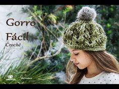 7664c68b7a948 Gorro de Crochê - Gorro Fácil - Professora Simone