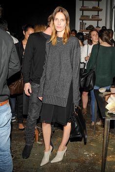 Vanessa Traina looking nothing short of fashion-forward per usual