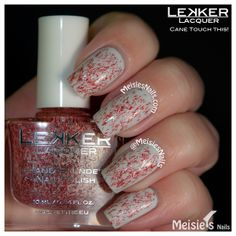 Lekker Lacquer - Holiday/Winter 2013 Collection - Cane Touch This!