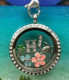 Gorgeous Beach - Themed Hawaii Locket!!! Shop and design online today at www.ashleymcnair.origamiowl.com