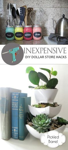 Inexpensive DIY Dollar Store Hacks| Dollar Store DIY, Dollar Store Crafts, Dollar STore Decor, Dollar Store Crafts and Decor, DIY Crafts, Crafts, Home DIY  #diy #diyprojects #crafts #crafting