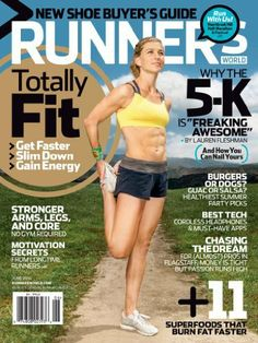 Runner's World (1-year auto-renewal) Magazine Subscription Rodale Inc. Filled with powerful information that will help you run faster, farther & have more fun doing it! Every issue brings you the strategies, tips and advice to fuel your performance, prevent injuries, burn fat, shed stress, and achieve your personal goals. Cover Price: $54.00 Price: $15.00 ($1.25/issue) & shipping is always free. Details, You Save: $39.00 (72%)…