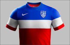 Nike Reveal USA World Cup Away Shirt