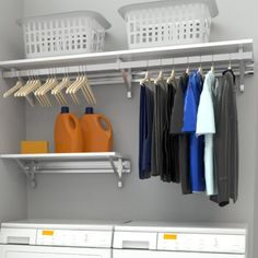 Found it at Wayfair - Arrange a Space Heavy Duty Laundry Room Organizer