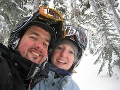 Snowy smiles via Flickr #whistler