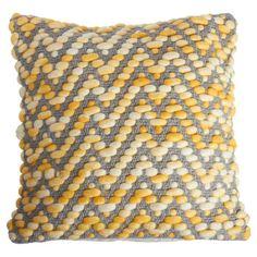 My design inspiration: Dye Pillow 18x18 Gray Yellow on Fab.