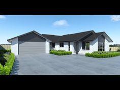 White brick Exterior House Colors, Exterior Design, House Cladding, Grey Trim, Guppy, Facades, Bricks, House Plans, Shed