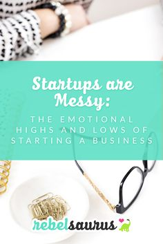 Startups are messy. Really messy. You go into entrepreneurship with this brilliant, world-changing idea and the perfect plan for how you're going to start and grow your business. But then reality hits. And maybe your income doesn't grow as fast as you'd h