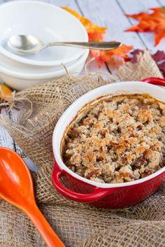 Pumpkin Spice Latte Quinoa Casserole