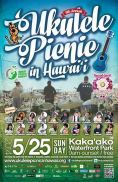Honolulu, HI Indulge yourself in Ukulele sounds by professional musicians, relax in the Hawaiian music, shopping around at the vendor booths, or you might take the opportunity to study professional Ukulele pl… Click flyer for more >>