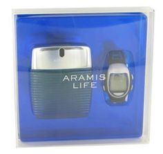 Aramis Life Gift Set by Aramis Gift Set for Men Includes 3.4 oz Eau De Toilette Spray + Free Watch