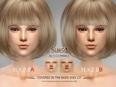 My Sims 4 Blog: S-Club WMLL H.S ND Skintones2.0