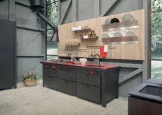 Minà parete, cucina di Minacciolo | lartdevivre - arredamento online