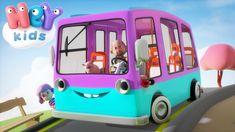 Las Ruedas Del Autobus y más canciones infantiles en Español ♫ HeyKids