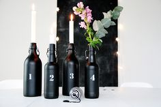 Intrigued and captivated by the use of black in interiors... black is the new black! <3<3 ADD DIY www.customweddingprintables.com