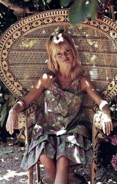 The chair of Brigitte Bardot