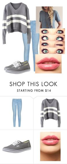 Untitled #368 by rachel-lynn786 on Polyvore featuring 7 For All Mankind, Vans and LASplash