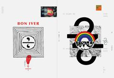 Great article about the process behind the new Bon Iver album artwork by Eric Timothy Carlson