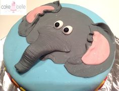 Elephant Cake:  Funfetti Vanilla with Vanilla buttercream Made by CakeBelle - Cape Town