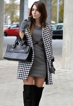 19 Houndstooth Looks