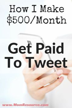 make money online get paid to tweet