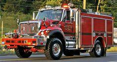 Washington Fire Dept. Engine 3 Int'l 7400 WorkStar